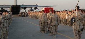 Ramp Ceremony - Afghanistan